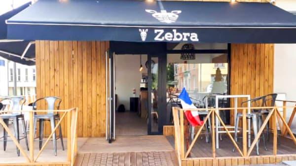 Entrée - Zebra Rue de Paris, Maisons-Laffitte