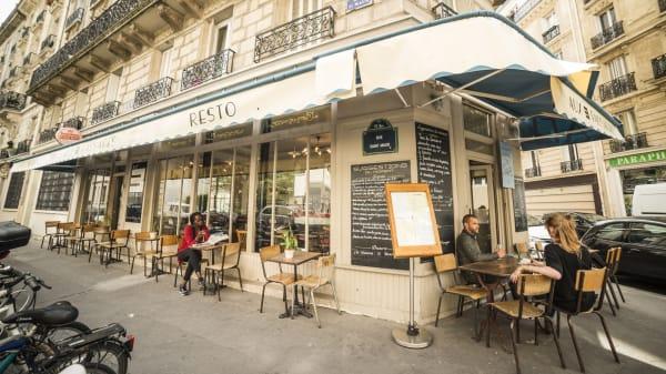 Grande terrasse - Aux 3 Passages, Paris
