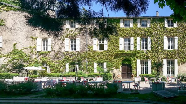 Entrée - Château d'Ayres, Meyrueis