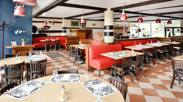 Salle du restaurant - Swiss Bistro, Cointrin