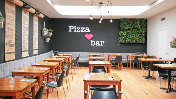 Het restaurant - Pizza Heart Bar, Amsterdam