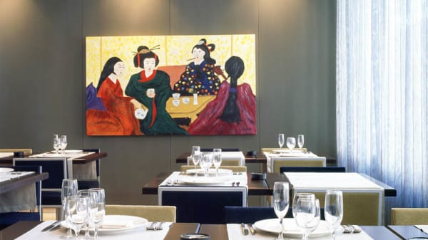 Vista del interior - Kirin Restaurant, Martorell