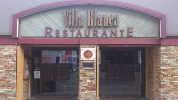 Fachada del Restaurante - Restaurante Villa Blanca - Luarca, Luarca