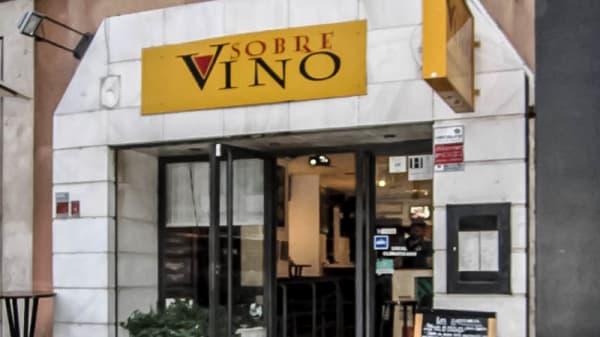 entrada - Sobre Vino, Madrid