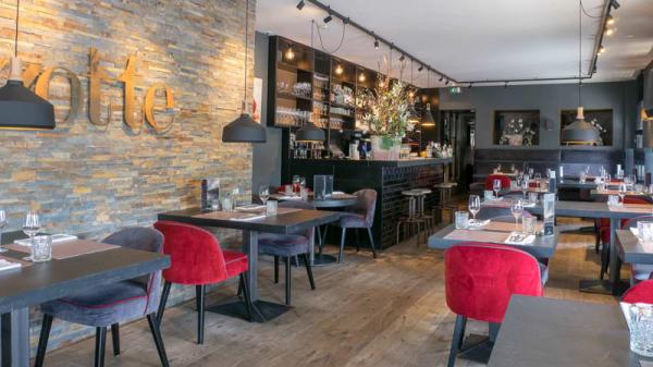 restaurantzaal - Zotte Lunch & Diner, Rotterdam
