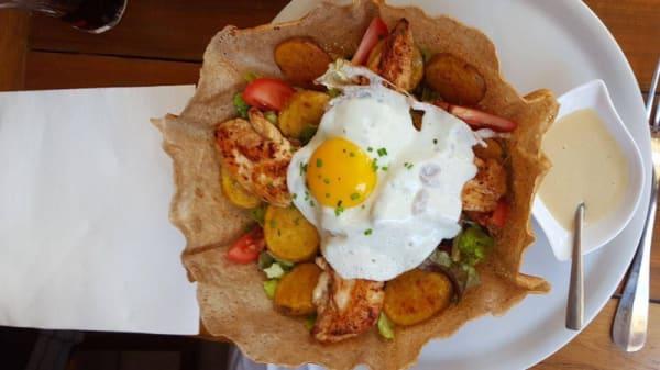 salade poulaga - La Crêperie des Amis, Lisieux