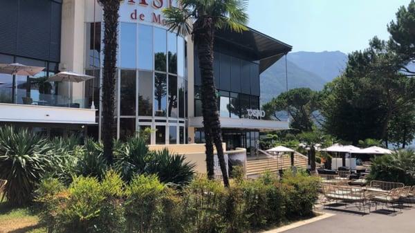Devanture - Casino Barrière de Montreux - Les salons du lac, Montreux