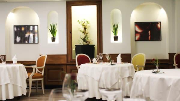 vue de la salle - Hotel Restaurant La Poularde, Montrond-les-Bains