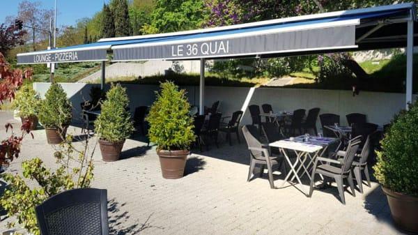 Terrasse - Le 36 Quai, Genève