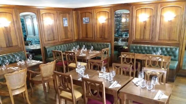 Salle du restaurant - Café du Tailleur, Marseille
