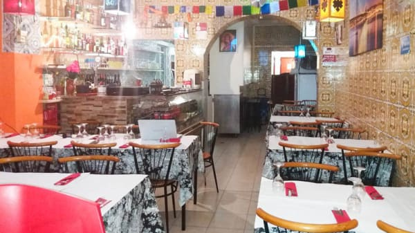 Sala do restaurante - Tamusyo Bhansa Ghar, Lisboa
