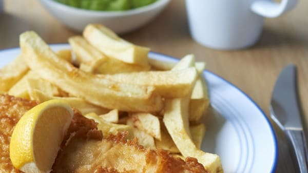 Deep Blue Fish & Chips at Mother Kelly's Paulsgrove, Portsmouth