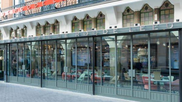 Ingang - Brasserie De Roode Leeuw, Amsterdam