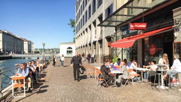 Vue de l'extérieur - Little Kitchen, Genève