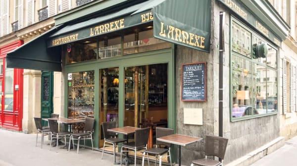 Devanture - L'Annexe Chaptal, Paris
