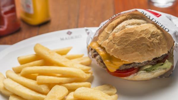 rw Cheeseburger Madero Junior  (hamburger de 130g) - Madero Ribeirão Preto, Ribeirão Preto