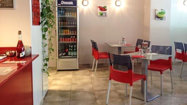 Salle du restaurant - L'Italienne, Toulon