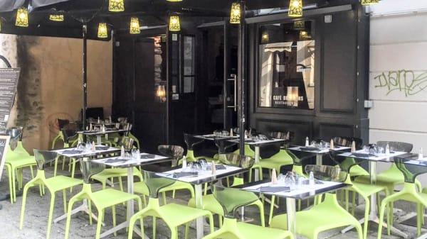 Terrasse - Le Café des Bains, Rennes