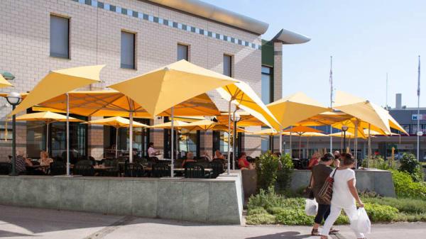 Terrasse - Restaurant du Forum de Meyrin, Meyrin
