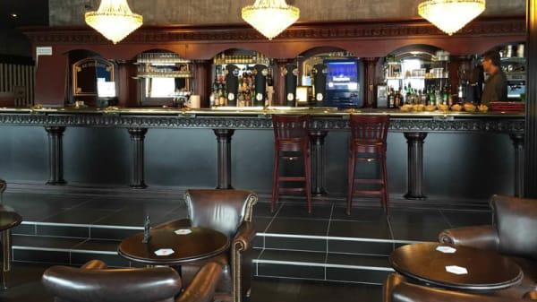 vue bar - Au Bureau, Sainte-Geneviève-des-Bois