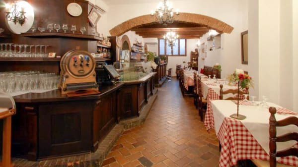 Salone ristorante - Buca Manzoni, Bologna