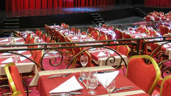 La salle de Théâtre pour notre formule repas-spectacles - Le Paradis des Sources, Soultzmatt