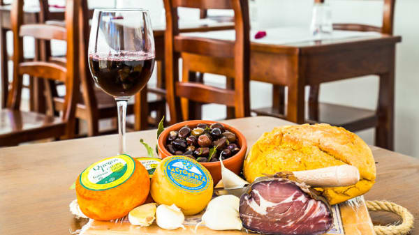 aperitivos variado - Copo de Três, Lisboa
