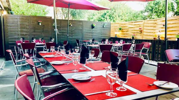 Esplanada - Restaurante Gamboa, Almancil