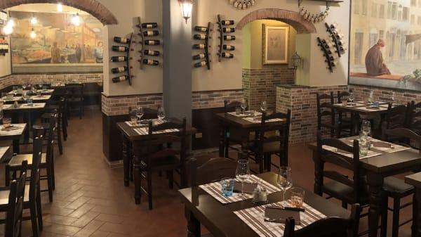 Interno - Osteria All'Antico Mercato, Firenze