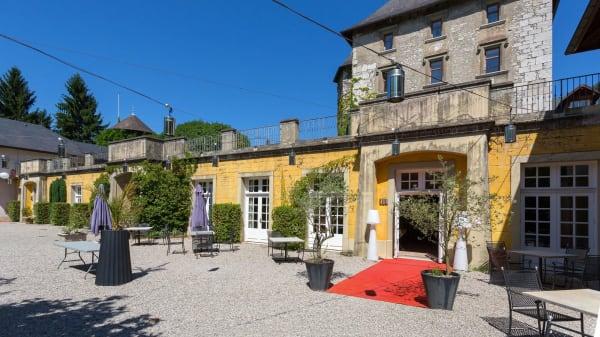 Entrée - L'Orangerie du Château de Candie, Chambéry