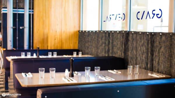 Salon du restaurant - Grand Central, Paris