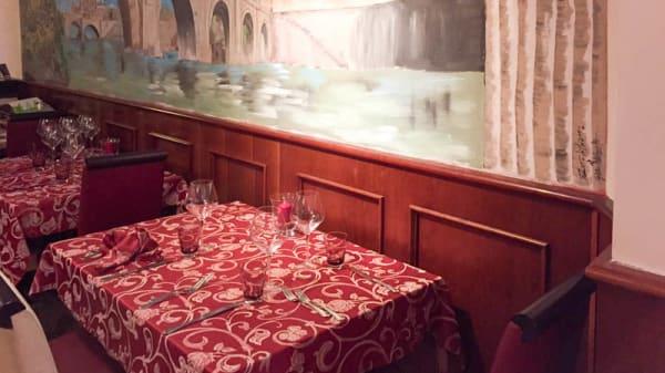 Sala del ristorante - Le Vigne del Mare, Rome