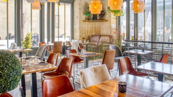 Vue de l'intérieur - Café Saint Jean, Avignon