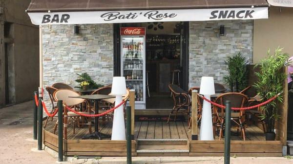 ENSEIGNE DU BAR BATI'ROSE - Bati'Rose, Bastia