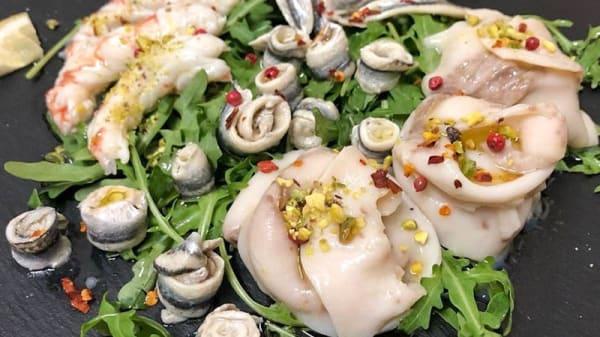 Suggerimento dello chef - Il Sale osteria siciliana, Como