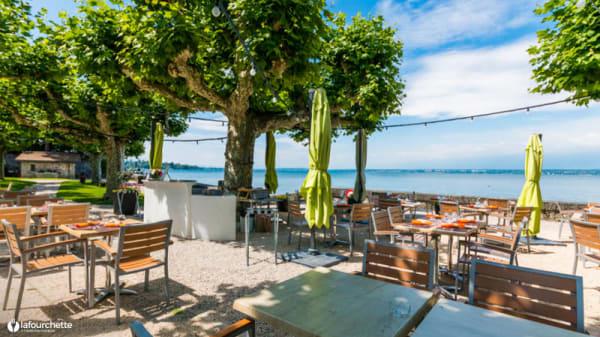 Terrasse - Cafe Restaurant du Quai, Hermance