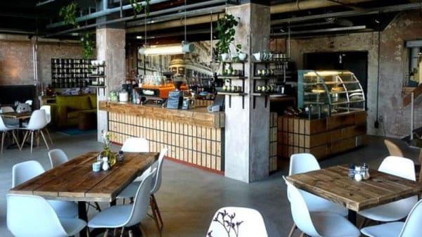 Restaurant beneden - Da Silva Restaurant & Espressobar, s-Hertogenbosch