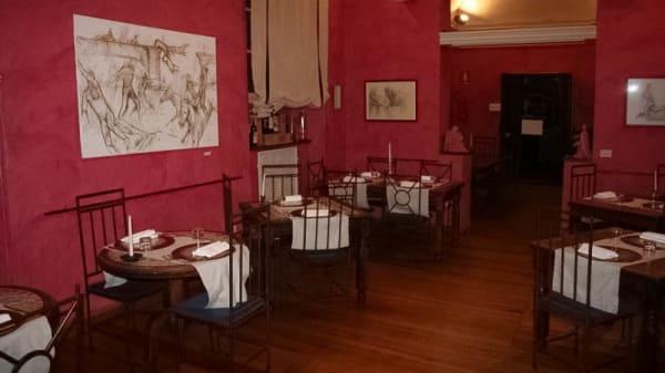 La sala - Ombre Rosse, Parma