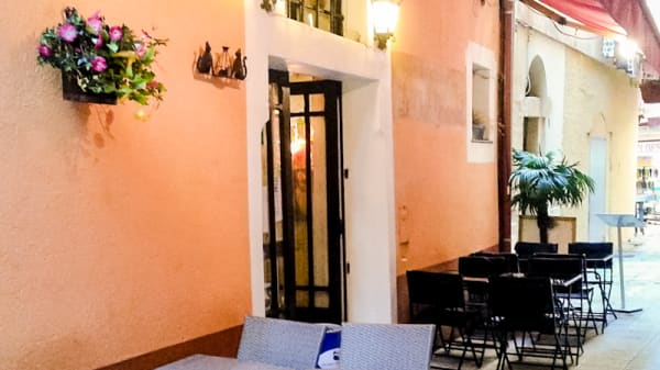 Terrasse - Le Chat Gourmand, Nice