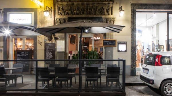 Entrata - I Tre Merli, Firenze