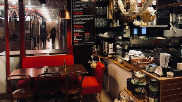 Rum - Pasta Gudfadern  - i Söderhallarna, Stockholm