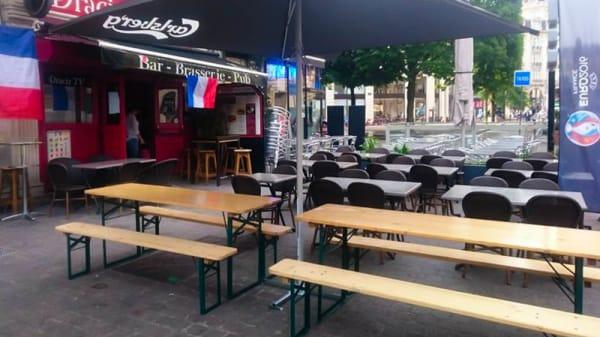 Vue de la terrasse - Le Dracir, Lille