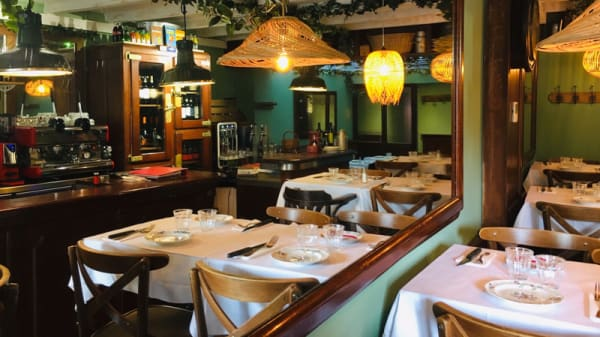 Salle du restaurant - Bambino Rocco, Montpellier
