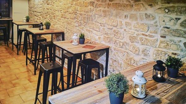 Vue de la salle - Bourbon Crêperie, Montpellier