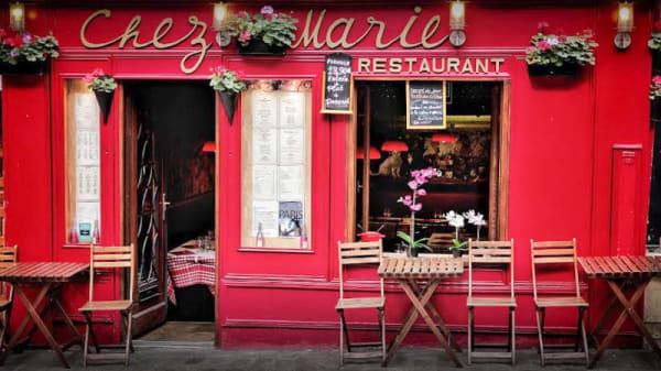 Photo devanture - Chez Marie, Paris