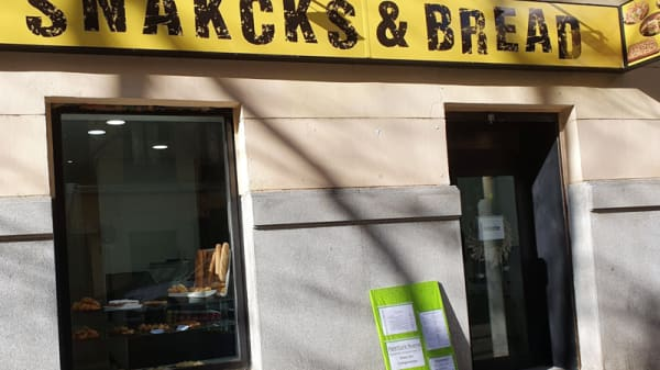 Entrada - Snacks & Bread, Madrid