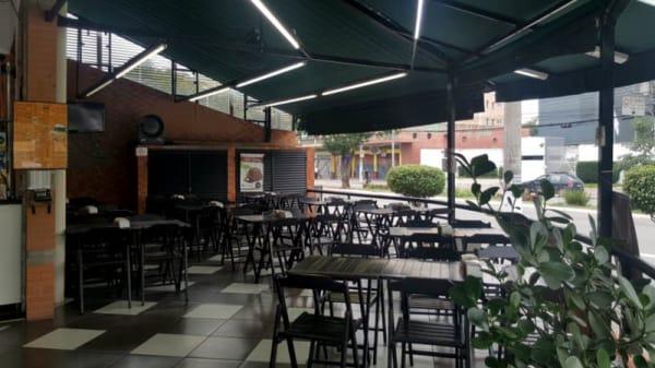 Vista sala - Brasil Burguer, São Paulo