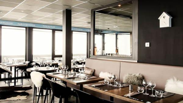 Salle du restaurant - Signal 2108, Huez