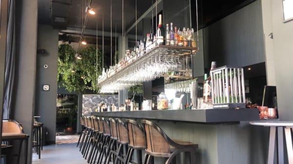 Vista de la sala - Piso Uno Restaurant, Santiago de Chile