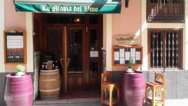 Entrada - Masia del Vino, Valencia